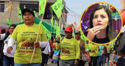 "Tía María: Según Yamila Osorio, ""muñeca política"" será determinante para evitar conflicto"