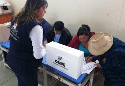 JNE: Desde este  lunes rigen restricciones por elecciones congresales