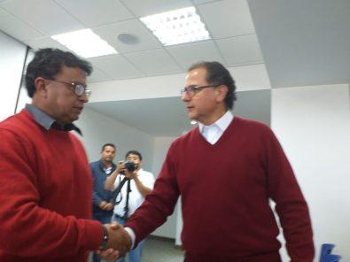 Ministro de Energía y Minas se reúne con organizaciones a favor de Tía María