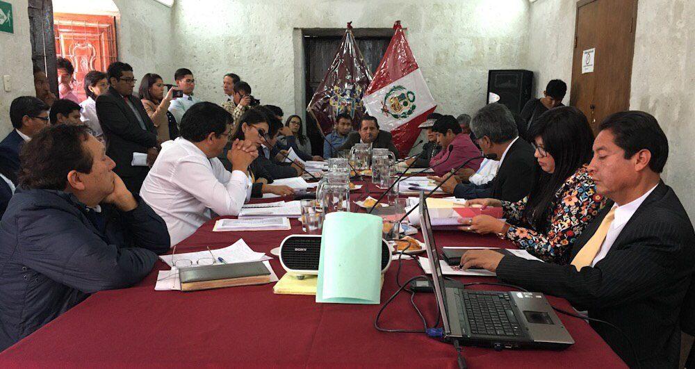 Arequipa Consejo Regional pronunciamiento rechazo tía maría