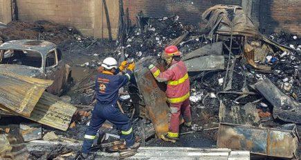 A Fiscalía el informe de incendio en el GRA que habría destruido pruebas