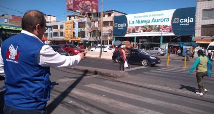 Intercambio vial del Avelino es peligroso para los peatones, señala Defensoría