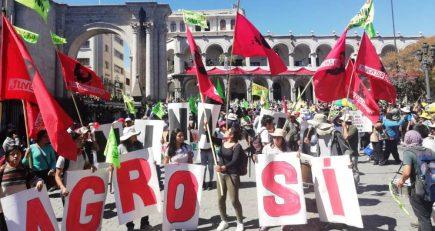 Tía María: el reinicio de las protestas en Arequipa despliega a fuerzas del orden