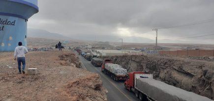 Tía María: Bloqueo de carretera hacia Matarani en quinto día de protestas