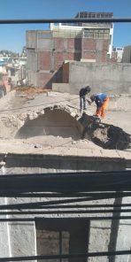 Destruyen bóveda de sillar de casona en Yanahuara durante feriados