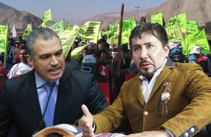 """Tía María: Salvador del Solar responde a Cáceres Llica """"No hay lugar para ultimátum"""""""