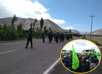 Tía María: Confirman siete detenidos tras protestas en Islay y Camaná