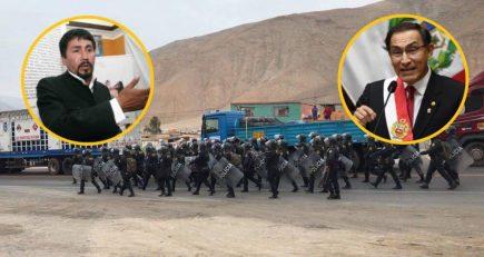 "Gobernador de Arequipa: ""Martín Vizcarra enfrenta peruanos contra peruanos"""