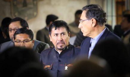 Elmer Cáceres rechaza ausencia del conflicto Tía María en mensaje de Vizcarra