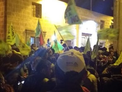 Enfrentamientos en Arequipa durante presencia de Martín Vizcarra