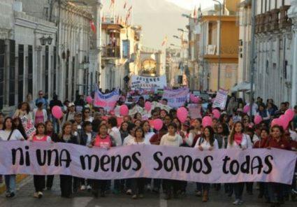 UNSA convoca marcha contra violencia a la mujer