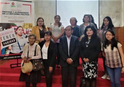 Paridad y alternancia: Necesidad de la participación de la mujer en política