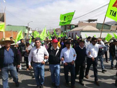 Bloqueo y movilización: así inicia el paro indefinido contra proyecto minero Tía María