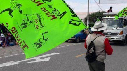 Tía María: Bloqueos, recurso de revisión y denuncia contra Yamila Osorio