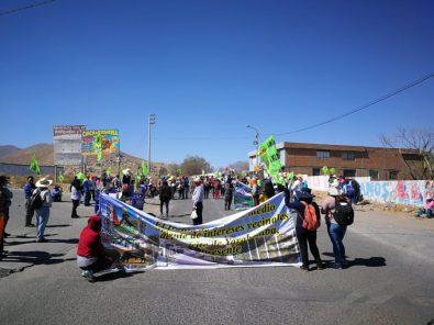 Tía María: Bloqueo en el cono sur de Arequipa en respaldo al valle de Tambo (FOTOS y VIDEO)