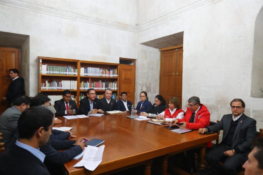 Tía María: reunión para tratar conflicto