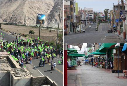 Tía María: así se desarrolló el tercer día del paro en valle de Tambo (fotos y video)