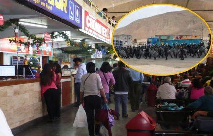 Tía María: Retoman venta de pasajes tras desbloqueo de Panamericana Sur