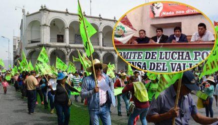 Tía María: Confirman paro macroregional este jueves contra proyecto minero