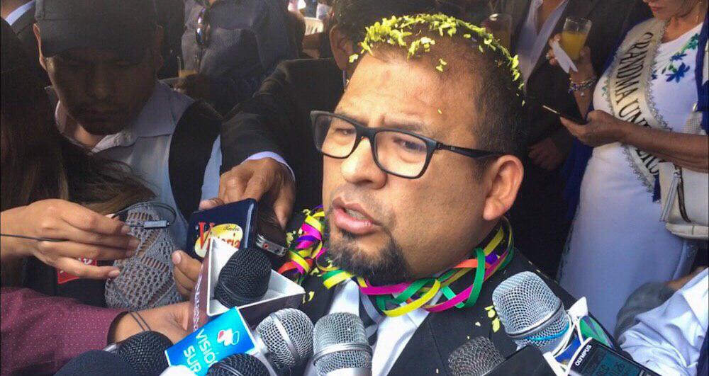 Arequipa municipalidad provincial Omar Candia ángel Coila documentación falsa