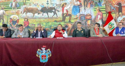Autoridades de Arequipa invocan a dirigentes que el paro sea pacífico