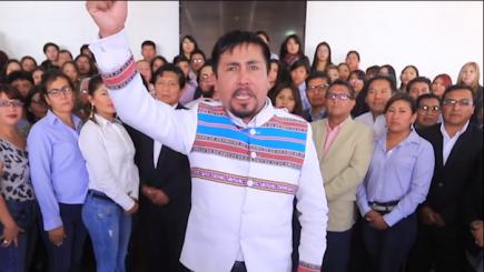 Gobernador regional a presidente Vizcarra: Cumpla su compromiso de venir al Valle de Tambo (VIDEO)