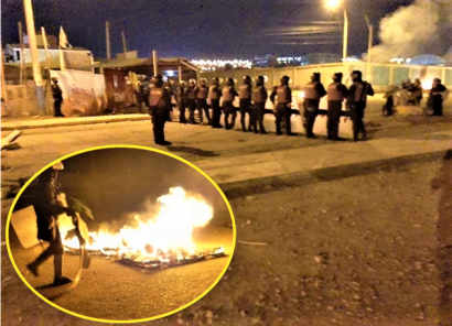 Tía María: Cinco detenidos tras liberación de vía de PetroPerú en Mollendo