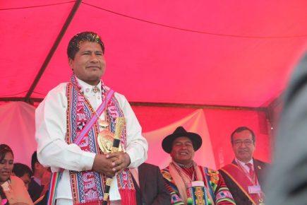 Puno: Ordenan captura del gobernador Walter Aduviri por 'Aymarazo'