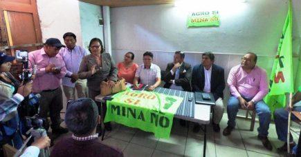 Tía María: Más agricultores se suman a huelga indefinida contra mina