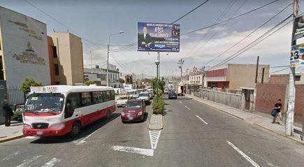 Arequipa: Cerrarán la avenida Parra por seis días desde el domingo