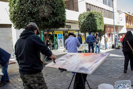 Más de 180 participantes en concurso de Pintura Rápida en Acuarela