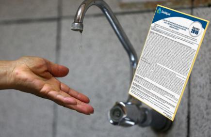 Arequipa: Anuncian 5 cortes del servicio de agua en varios distritos