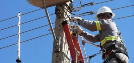Anuncian corte del servicio eléctrico en dos distritos para mañana miércoles