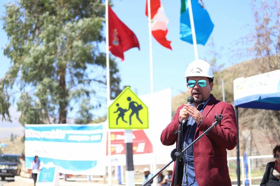 Gobernador de Arequipa, Elmer Cáceres Llica