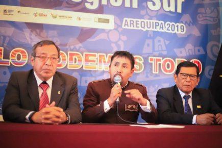 Gobernadores del Sur se solidarizan con Walter Aduviri, gobernador regional de Puno