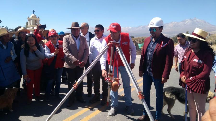 MTC y Gobierno Regional de Arequipa inauguran vía Arequipa- Moquegua