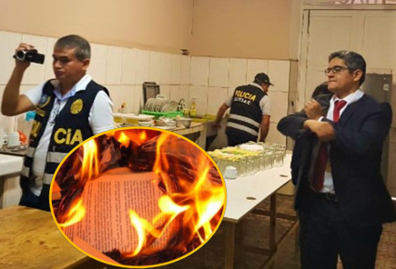 Fuerza Popular quemó documentos para evitar incautación de José Domingo Pérez