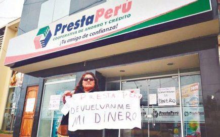 Socios de Prestaperu piden ser incluidos dentro de proceso de liquidación