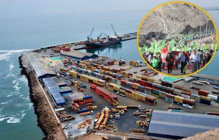 Tía María: Buques de carga evitan puerto de Matarani en día 17 de paro