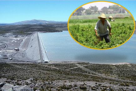 Concretan estudios de represa Yanapujio en beneficio del Valle de Tambo