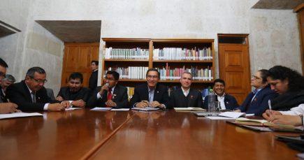 Arequipa: Gobernadores del Sur presentarán proyecto de nueva Ley de Minería