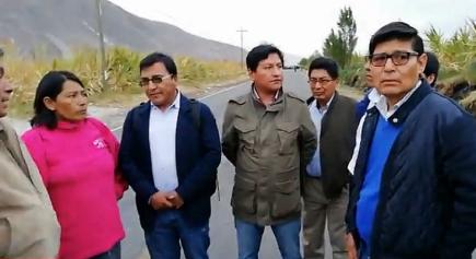 Tía María: GRA envía equipo técnico para evaluar situación en el valle