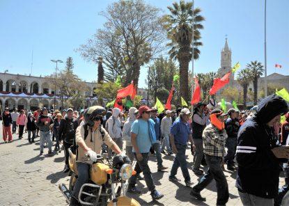 Tía María: Así se desarrolló el primer día del paro regional en Arequipa (VIDEO)