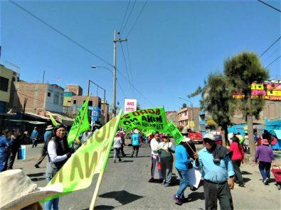 Arequipa: Protestas pacíficas en paralización contra el proyecto minero Tía María