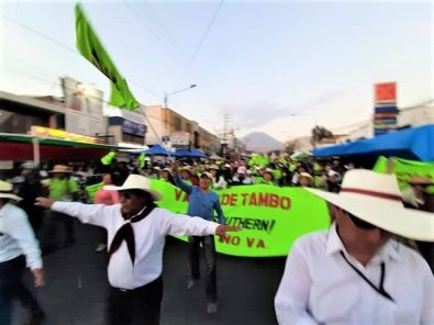 Tía María: Evalúan acciones legales contra manifestantes que irrumpieron en corso