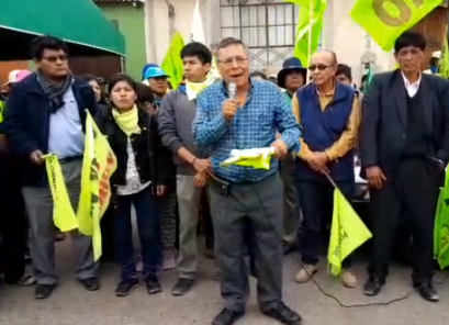 Tía María: Quinto día de paro con desbloqueo de vías y manifestación en valle