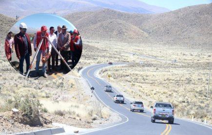 MTC entrega asfaltado vía Arequipa – Moquegua y proyecto vía alterna a Puno