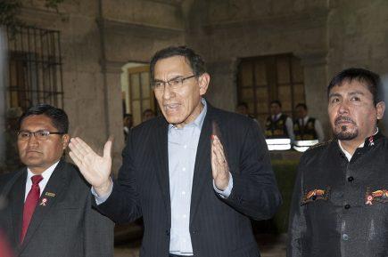 Audio completo de la reunión entre Martín Vizcarra y los alcaldes de Islay