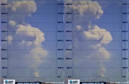 Volcán Sabancaya: Instituto Geofísico lanza alerta por expulsión de cenizas
