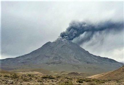 Volcán Ubinas: IGP mantendrá alerta naranja por anomalías sísmicas